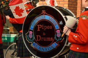 KSW en Colchester Legion Pipes & Drums
